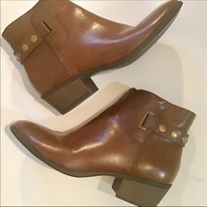- Xappeal faux leather ankle boots size 10